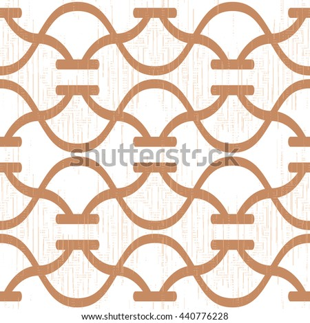 Abstract curved lines pattern seamless background tile