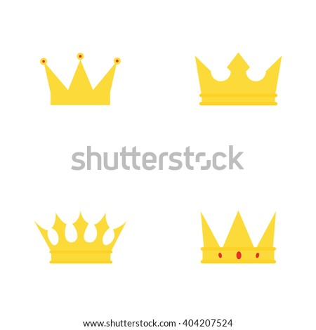abstract cute crown
