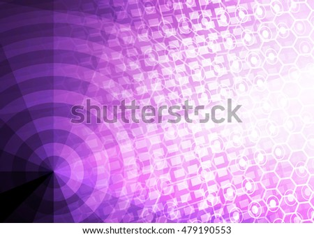 Abstract cyberspace background