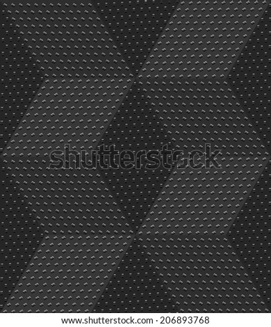Abstract 3d geometrical seamless background. Gray 3d cubes textured with embossed dots. - stock vector