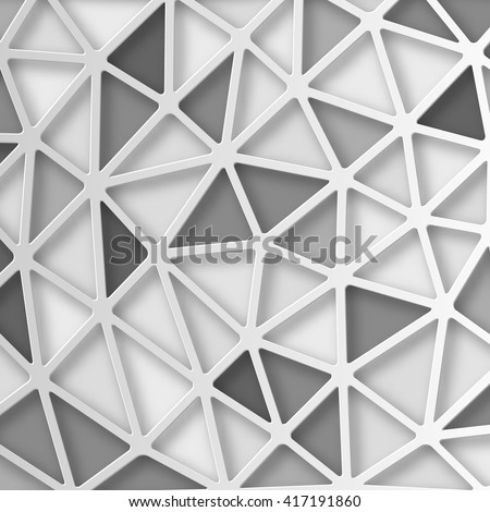 Abstract 3D Paper background. Vector - stock vector
