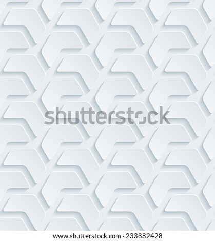 Abstract 3d seamless background. Vector EPS10. See others in a Perforated Paper Set.