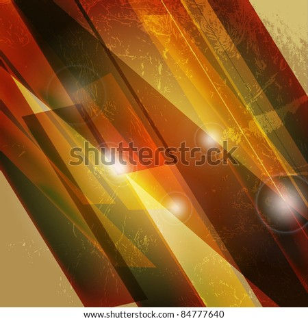 Abstract 3D technology lines with light vector backgounds. - stock vector