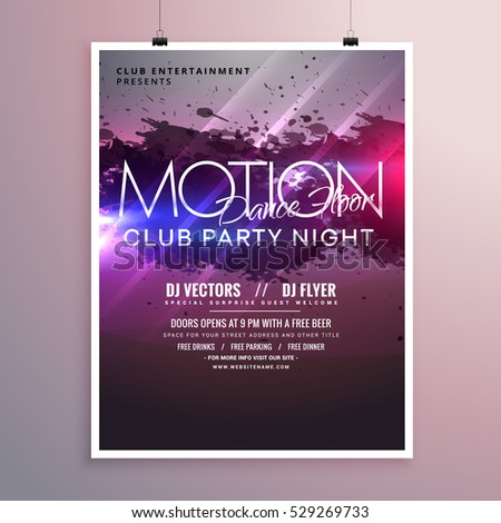 Party Flyer Stock Images, Royalty-Free Images & Vectors | Shutterstock