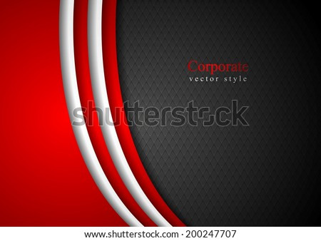 Abstract dark corporate background. Vector illustration