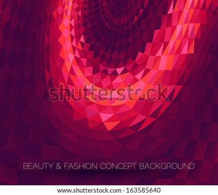 abstract dark purple background with soft tones - stock vector