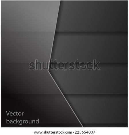 Abstract dark rectangle shapes background. EPS 10 Vector illustration.