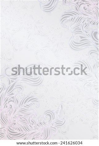 Abstract decoration vintage background with space for your text. Suitable for various designs, invitation, thank you card, save the date cards and scrapbooking. Vector illustration 10 EPS - stock vector