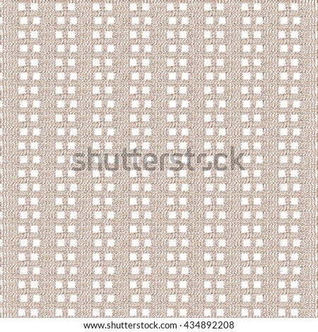 Abstract decorative fabric background. Strips squares pattern. Vector design. - stock vector