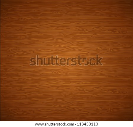 Abstract decorative striped textured wooden background - vector illustration. - stock vector