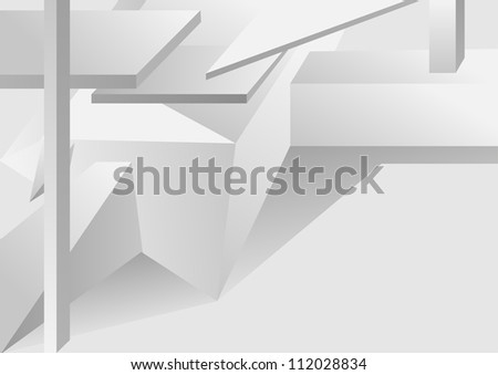 abstract design background in shades of gray