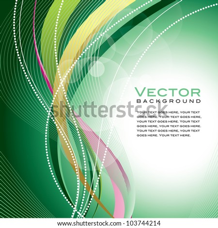 Abstract Design. Eps10. - stock vector