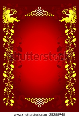 Abstract design letter Background