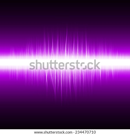 abstract design of violet magic lines.(sound effect version)