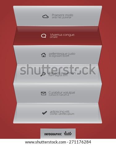abstract design template - stock vector
