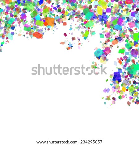 Abstract designed background with place for your text.