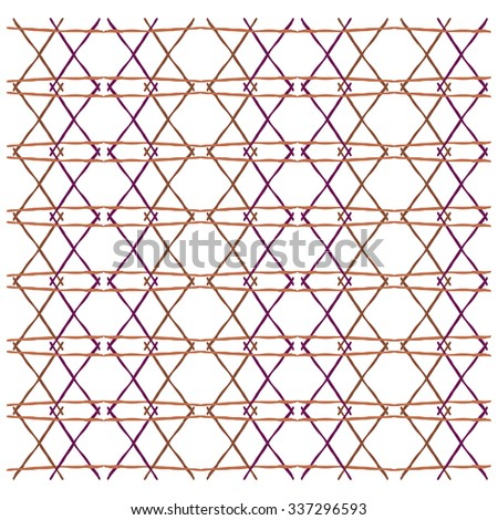 abstract diamond shape pattern lines