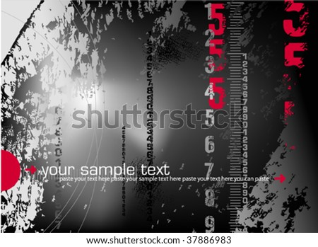 Abstract digital background. Vector illustration. - stock vector