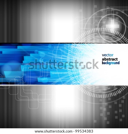 Abstract digital background - vector illustration
