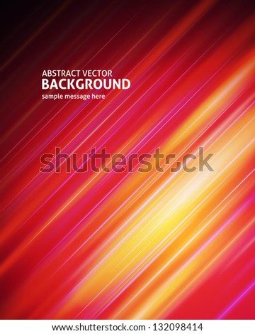 Abstract digital light vector background