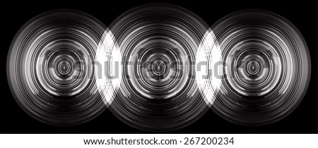 abstract digital sound wave pattern background. black Light Abstract Technology background for computer graphic website internet and business. circuit. vector - stock vector