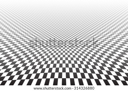 Abstract distorted textured background. Vector art. - stock vector