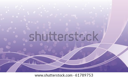 Abstract DNA Medical Background - stock vector