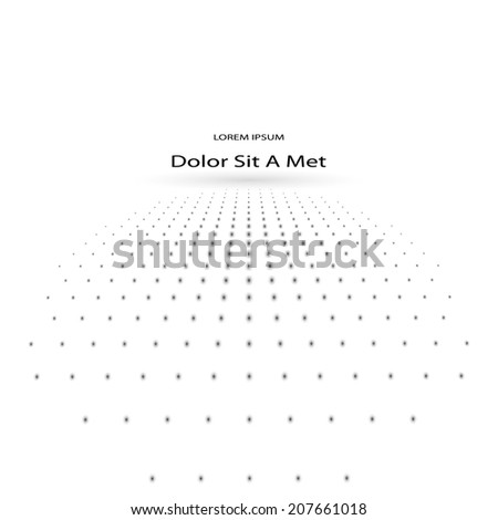 abstract dot background. vector eps10 - stock vector