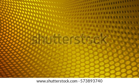 Abstract dots background in yellow colors