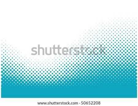 Abstract dots vector background. Halftone.