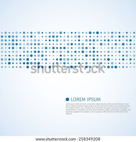 Abstract dots vector background. Halftone, excellent vector illustration, EPS 10 - stock vector