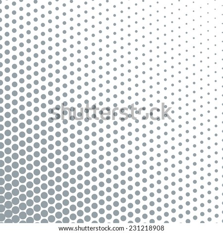 Abstract dotted background. Halftone effect - stock vector