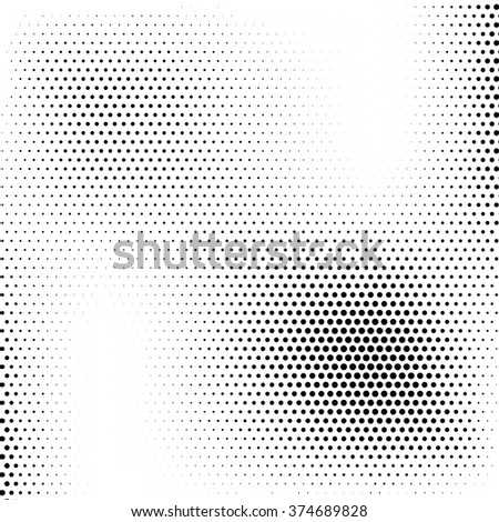 Abstract dotted background. vector pattern. Halftone effect illustration.