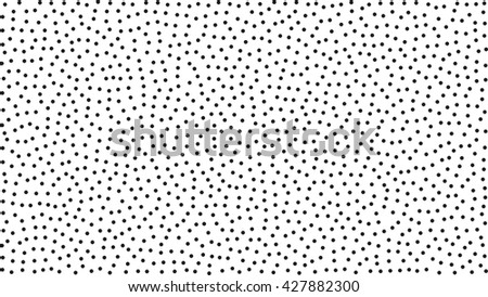 Abstract dotted black and white background