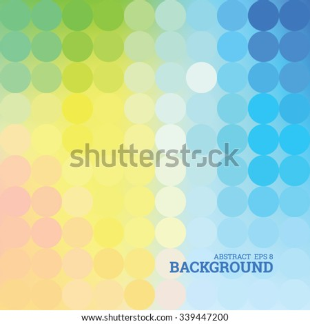Abstract dotted bright background, editable vector eps 8 - stock vector