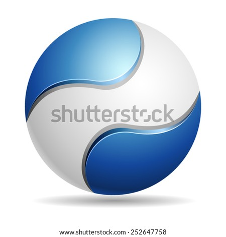 Abstract Eco sign - stock vector