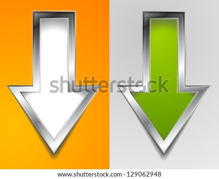 Abstract elegant arrows. Vector background eps 10 - stock vector