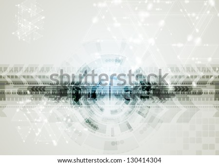 Abstract elegant technology design. Vector background eps 10 - stock vector