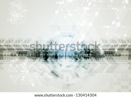Abstract elegant technology design. Vector background eps 10 - stock vector