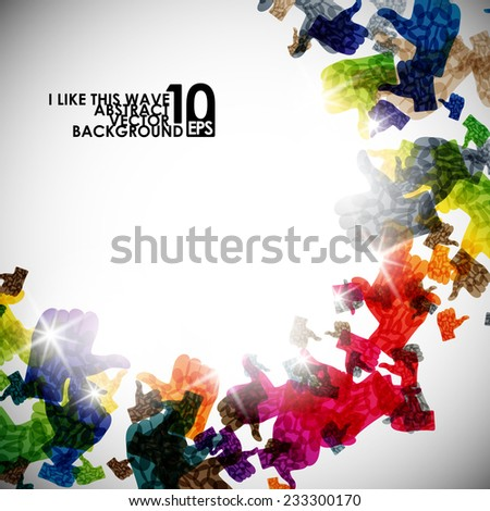 abstract, eps10 - stock vector