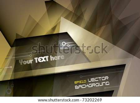 abstract eps10 vector background - stock vector