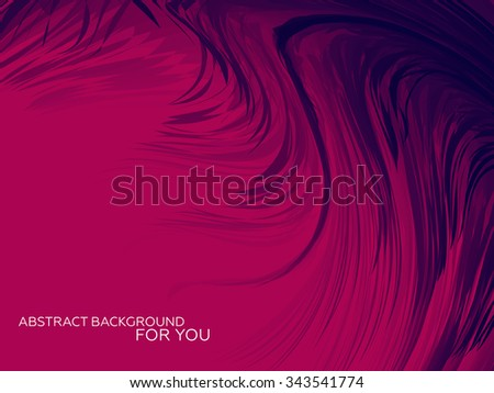 Abstract Feather Background for Your Design | Vector Illustration - stock vector
