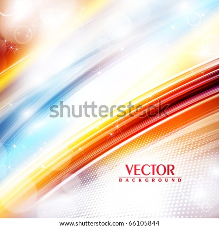 Abstract festive rainbow background. Vector - stock vector