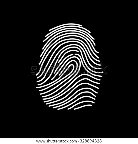 abstract finger print