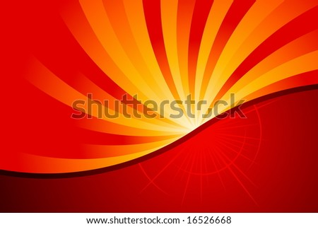 Abstract Fire - stock vector