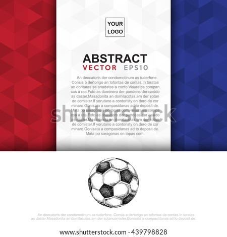 Abstract flag colour banner .Illustration eps 10 - stock vector