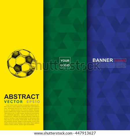 Abstract flag colour banner .Illustration eps 10