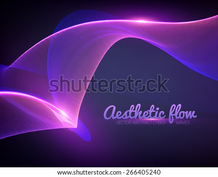 Abstract flame vector mesh background. Futuristic technology style. Elegant background for business presentations. Flying debris. eps10 - stock vector