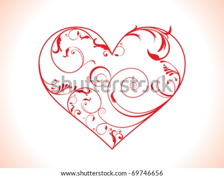 Hand language heart love vector image