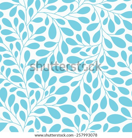 Abstract floral seamless pattern. Elegant floral texture for backgrounds, textile design, wrapping paper - stock vector